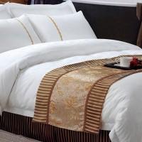 宾馆白色床单