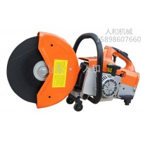 混凝土路面汽油切割机 便携式无齿消防救援快速切割机