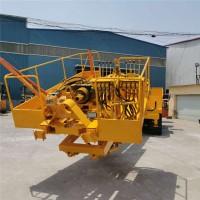 履带式深坑打桩机 护坡锚杆钻机可升高5-15米